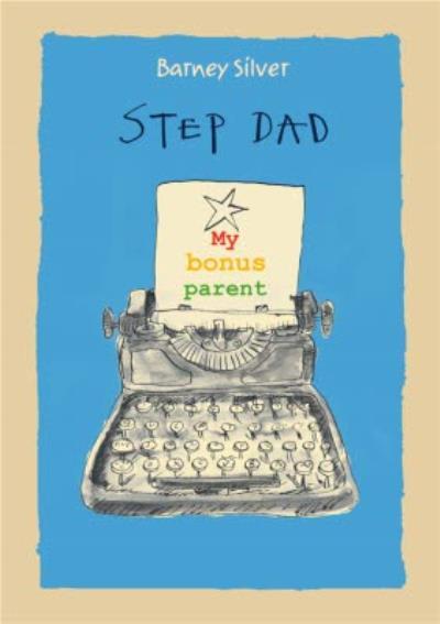 Step Dad My Bonus Parent Birthday Card