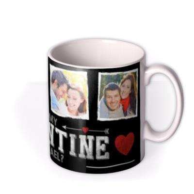 Valentine's Day My Valentine Photo Upload Mug