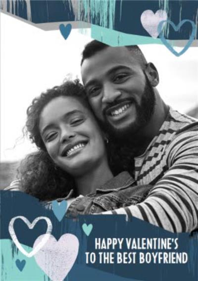 Photo Upload Happy Valentines To The Best Boyfriend Card
