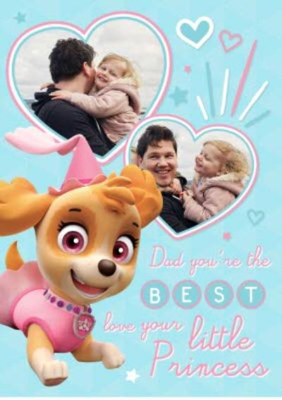 PAW Patrol From Your Princess Father's Day Card