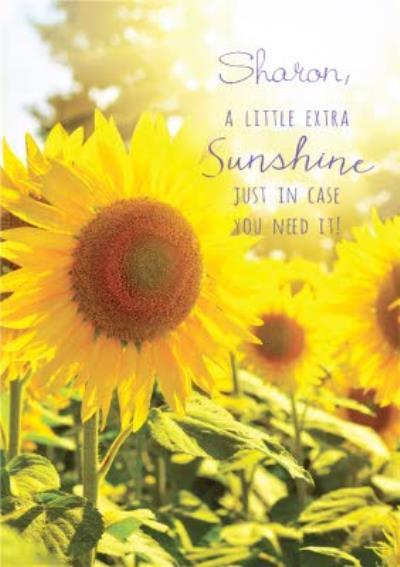 Pigment A Little Extra Sunshine Card