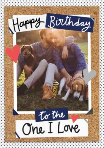 Birthday Card - Husband - Boyfriend - Same Sex - Gay - Photo Upload