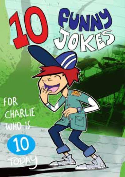 Funny 10th Birthday Card