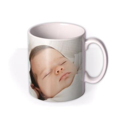 New Baby Blue Photo Upload Mug