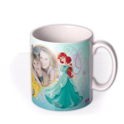 Disney Princess Collection Blue Photo Upload Mug