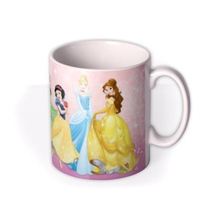 Disney Princess Collection Pink Personalised Mug