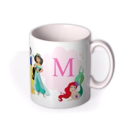 Disney Princesses Letter Mug