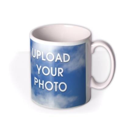 Portrait Photo Upload Mug