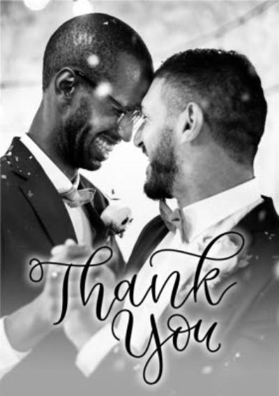 Wedding Card - Photo Upload - Wedding Thank You