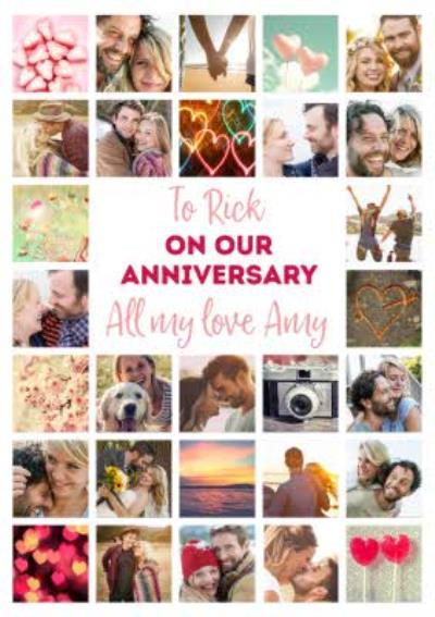 Multiple Photo Upload On Our Anniversary Card