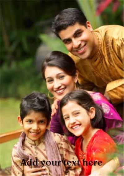 Diwali Photo Upload Card