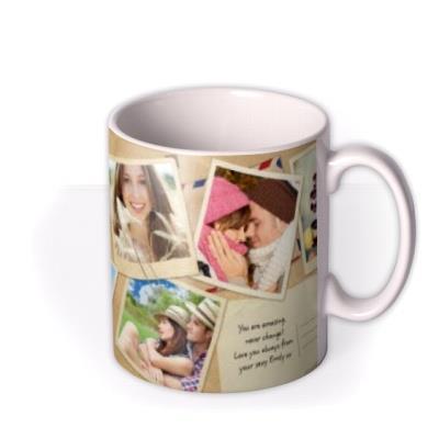 Desktop Collage Photo Upload Mug