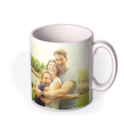 Personalised Text and Photo Upload Mug