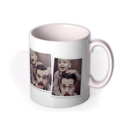 Four Picture Photo Upload Mug