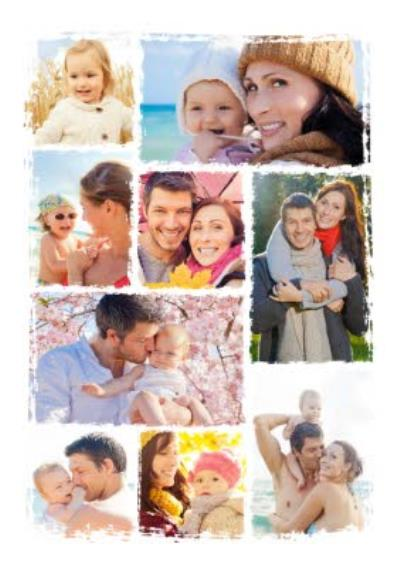 Multiple Photo Greeting Card