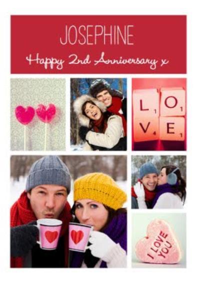 Photo Anniversary Card