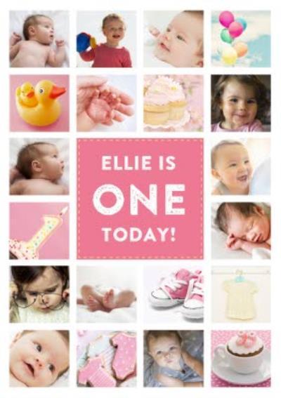 Personalised 1st Birthday Card