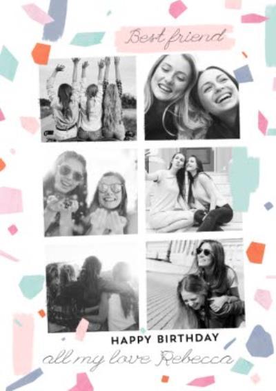 Best Friend Photo Upload Card
