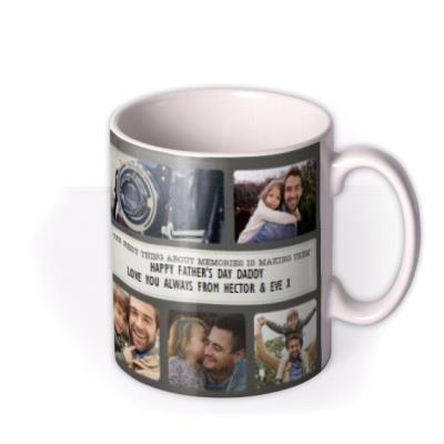 Photo Upload Collage Memory Mug