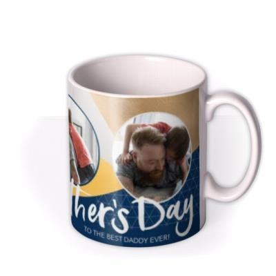 Happy Father's Day Photo Upload Mug