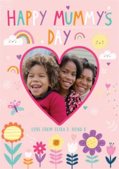 Happy Mummys Day Photo Upload Mothers Day Card