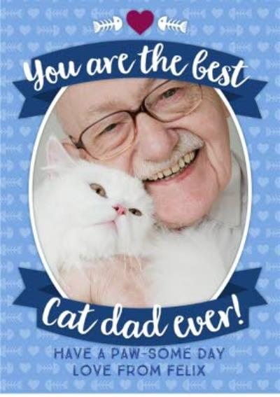 From The Cats Happy Father's Day Card