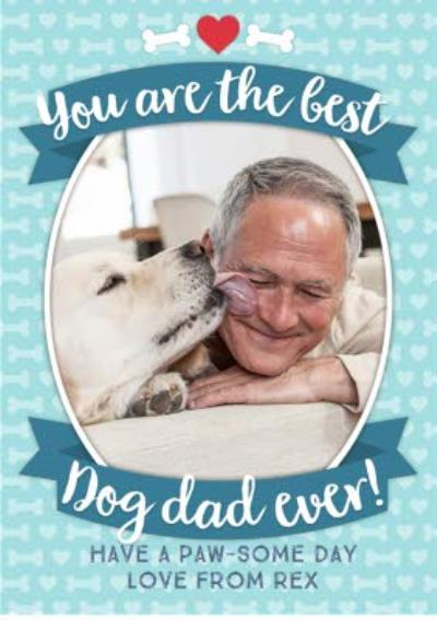 From The Dogs Happy Father's Day Card