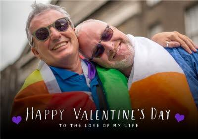 Happy Valnrines Day To The Love Of My Life Photo Upload Valentines Card