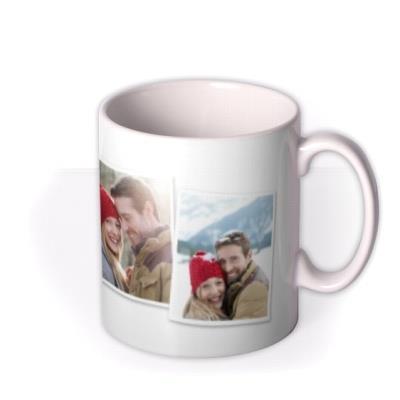 Christmas Photo Upload Mug