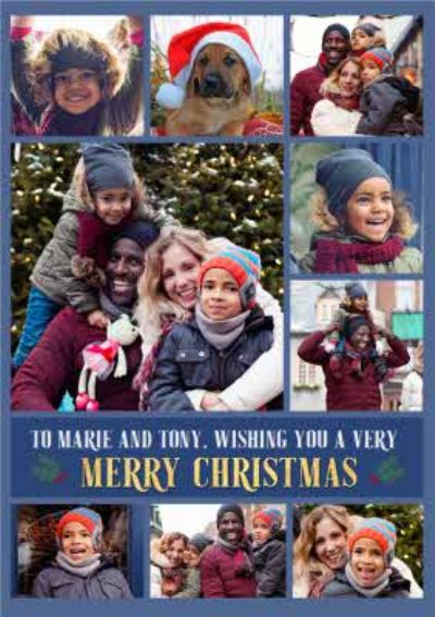 Multi Photo upload Christmas Card