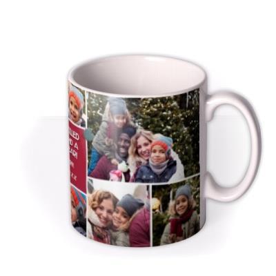 Multi Photo Upload Christmas Mug From The Kids