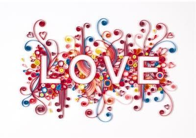 Quilled Creations Love Card