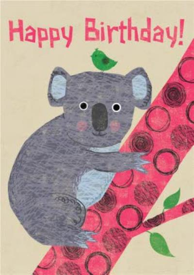 Cute Koala Birthday Card