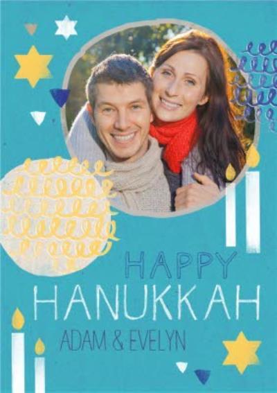 Photo Hanukkah Card