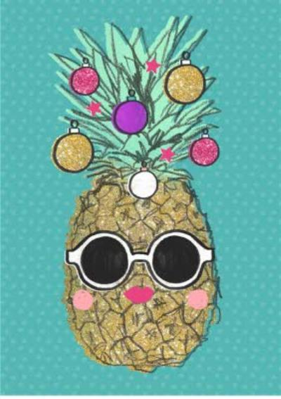 Shake It Up Tropical Christmas Card