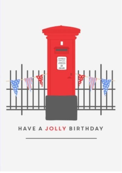 Birthday card - easy send - quick card - london - postbox