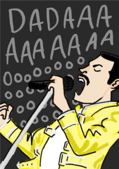Dadaaaaaaaoooo Cool Father's Day Card