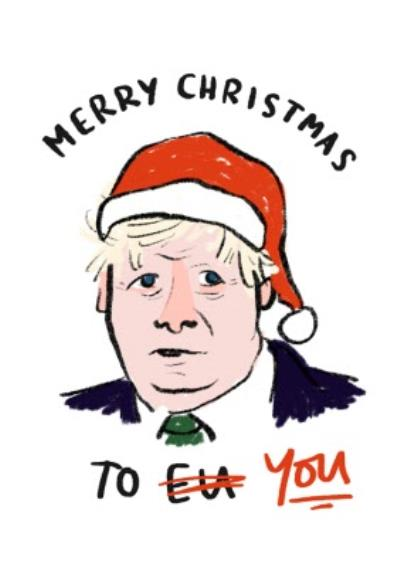 Funny Politics Christmas Card To YOU
