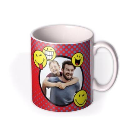Smiley World Photo upload Mug for No.1 Dad