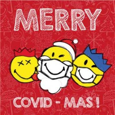 Smiley World Merry Covid Mas!