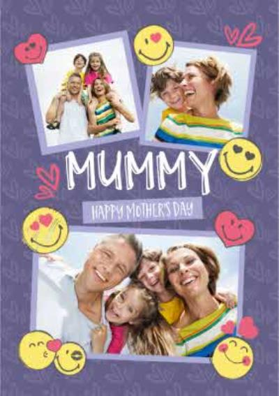 Mummy Happy Mothers Day Photo Upload Card