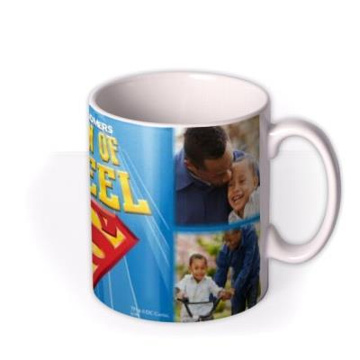 Superman Man Of Steel Photo Upload Mug