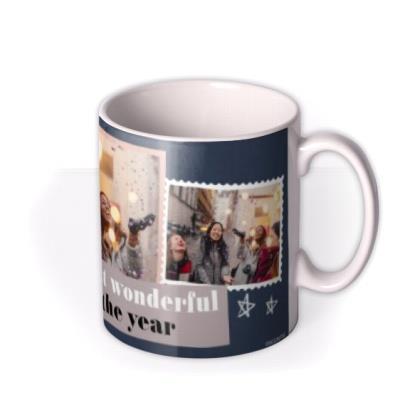It's The Most Wonderful Time Of The Year Christmas Photo upload Mug