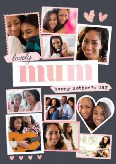 Lovely Mum Happy Mothers Day Multiple Photo Upload Mothers Day Card