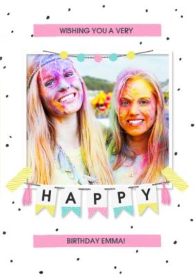 Birthday Card - Photo Upload