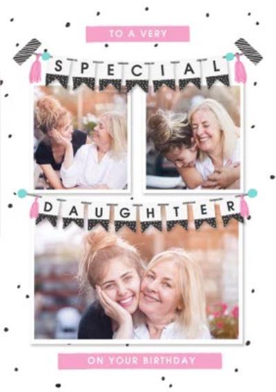 Birthday Card - Photo Upload - Daughter