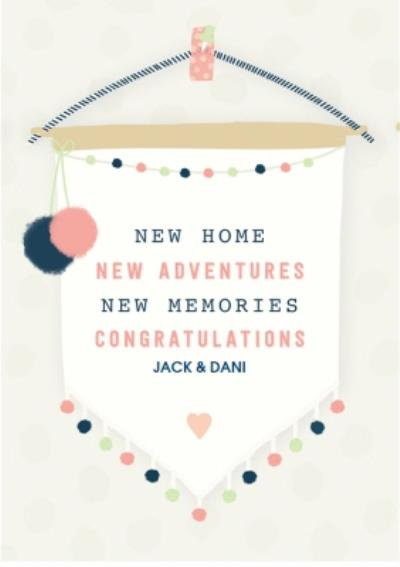 New Home Card - Congratulations