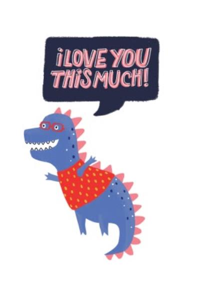 Monster Love Cheeky Funny Card