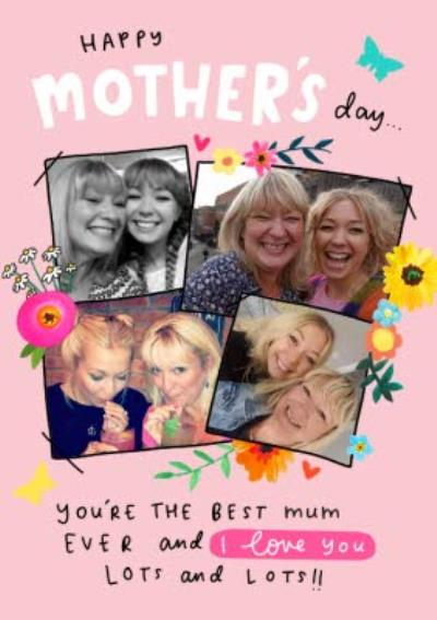 The Best Mummy Ever Photo Upload Mother's Day Card