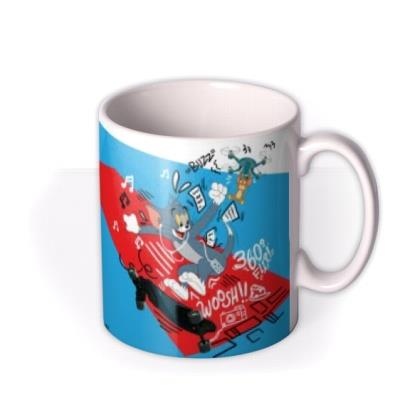 Tom and Jerry Movie Thrill Of The Chase Mug